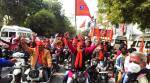 Inside a VHP bike rally for temple funds: Businessman, insurance execs, children