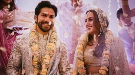Varun Dhawan-Natasha Dalal wedding inside photos