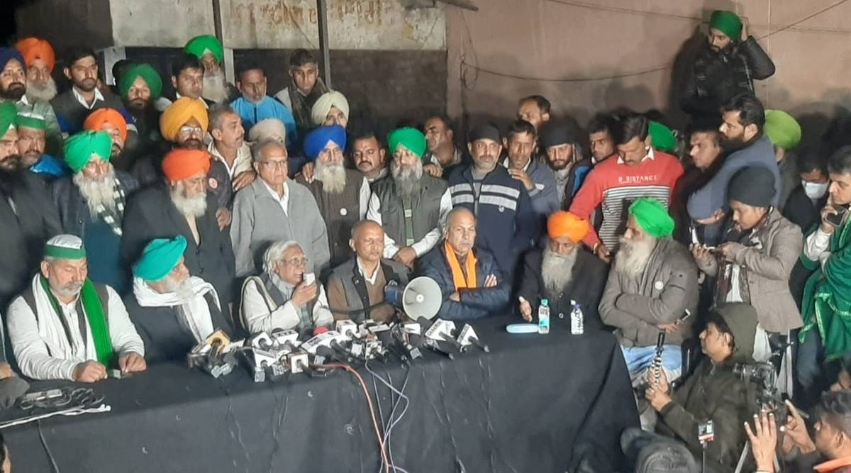 Farmers' stir: Cracks within, unions call off Parliament march, allege plot to break them