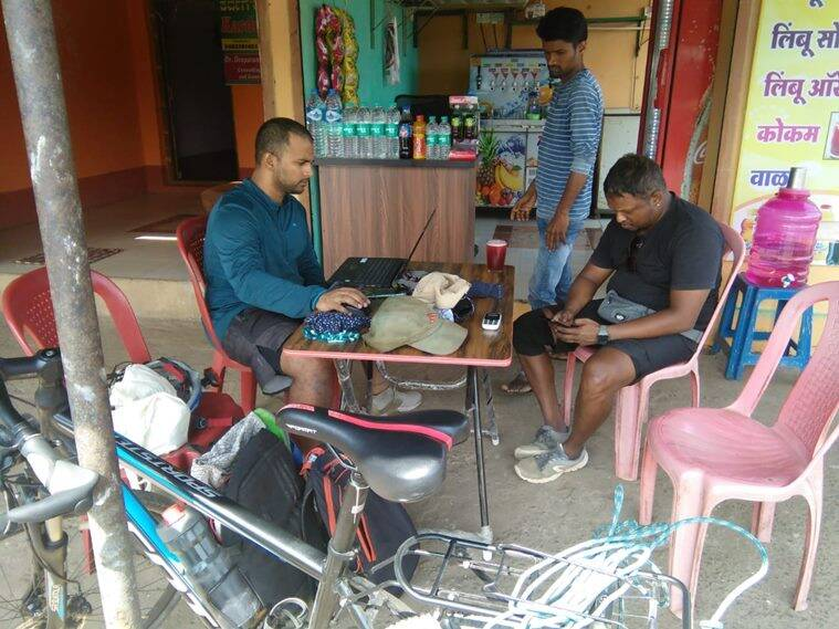work from home, group cycling trip work from home, travelling in covid pandemic, covid travel plans, mumbai group cycling trip to kanyakumari, indian express