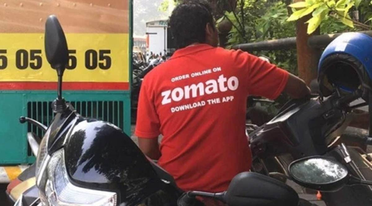 Zomato's net loss, Zomato revenue, food delivery business rose, Online food ordering, economy news, Indian express news