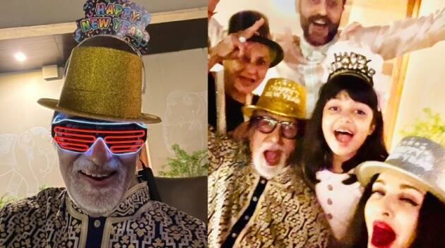 bachchans new year party