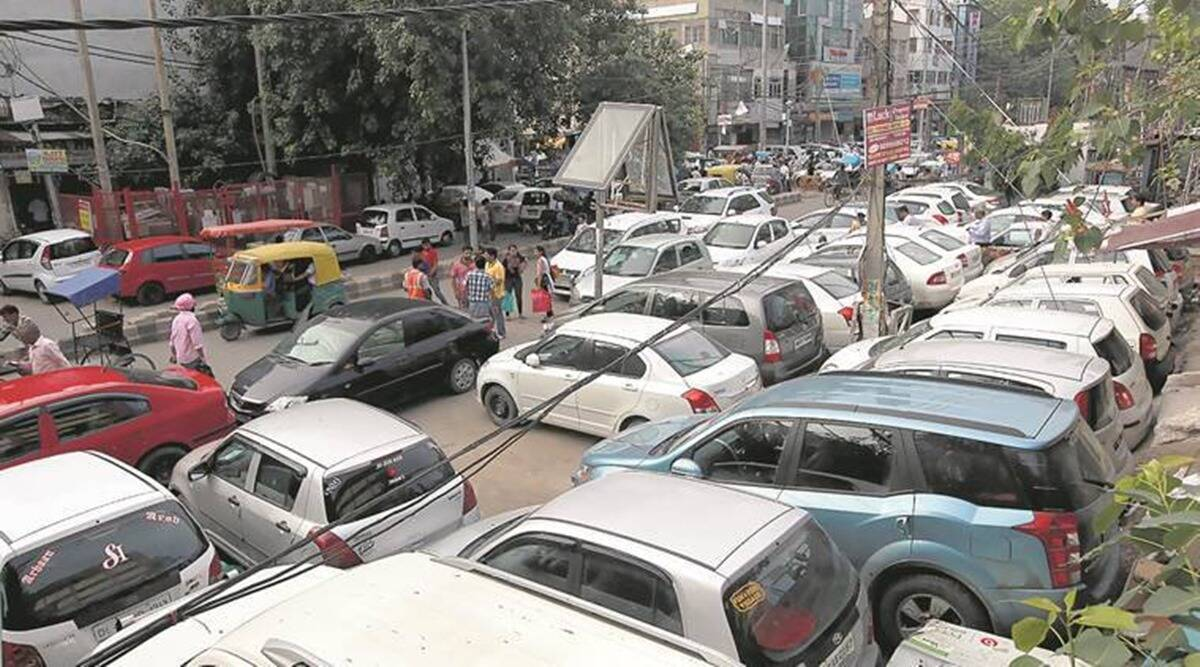 Draw of lots for parking space in Vasant Kunj