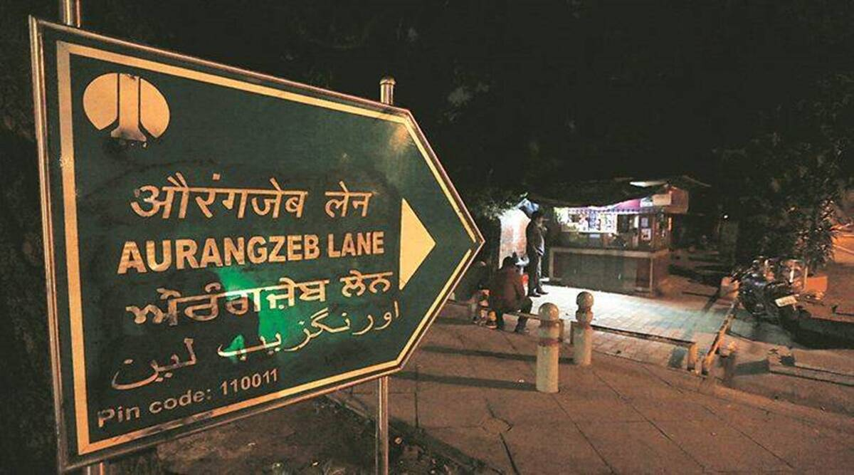 Group from Haryana defaces Aurangzeb lane signboards