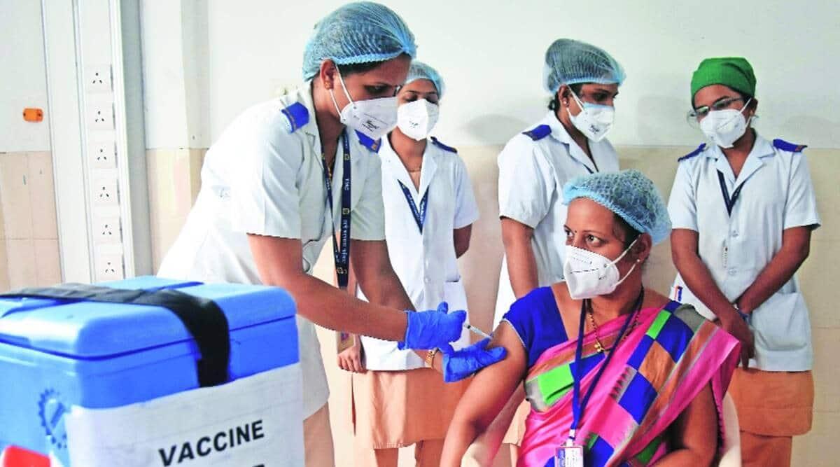 Mumbai covid, BMC, Mumbai covid vaccination, Mumbai covid vaccine, CoWin, indian express news