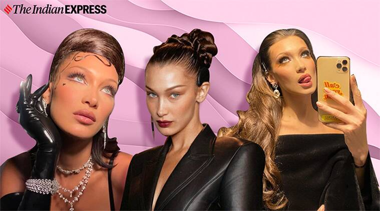 From vintage hairdo to braids: A look at Bella Hadid's many hairstyles