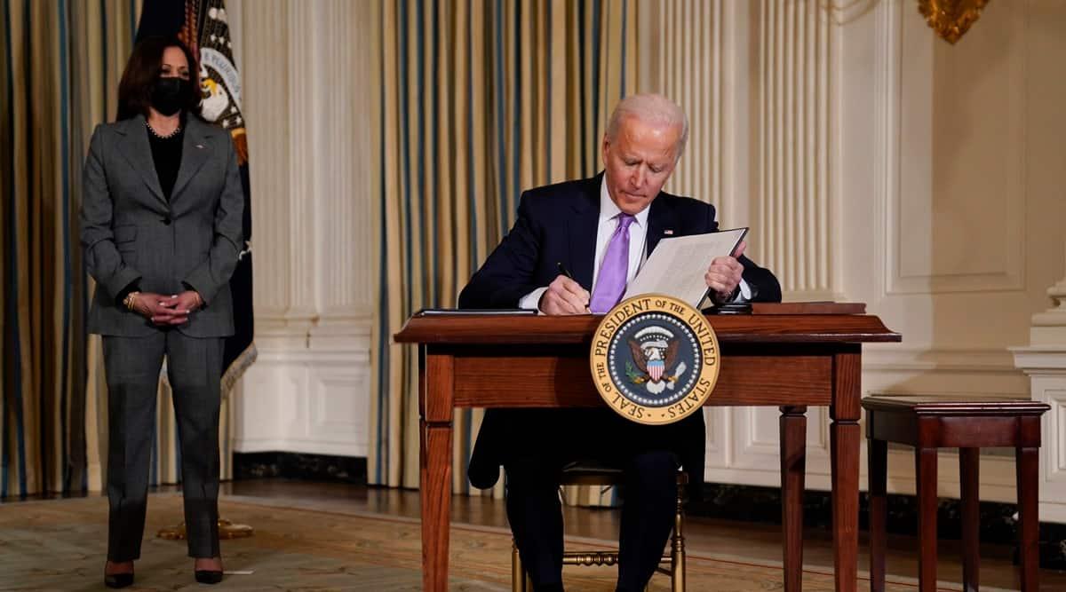 Joe Biden, US Prisons, private prisons, US private prisons, Biden private prisons, Indian Express