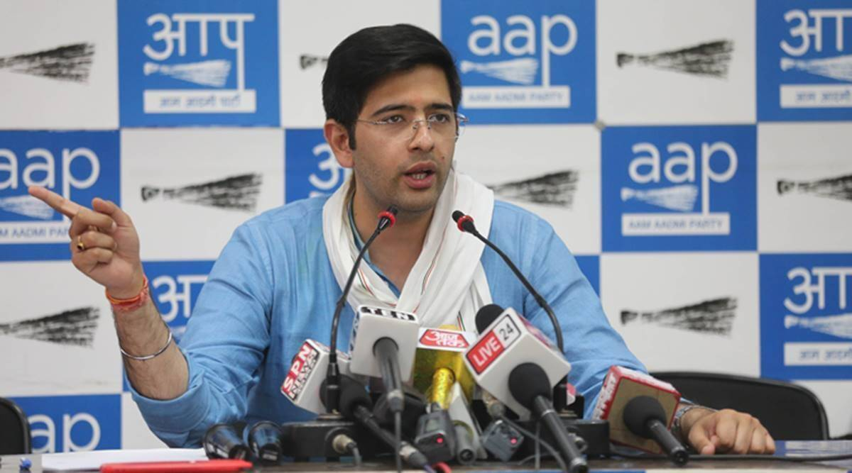Narendra Modi, Raghav Chadha, farm bills, farmers protest, punjab AAP, Raghav Chadha AAP, indian express news