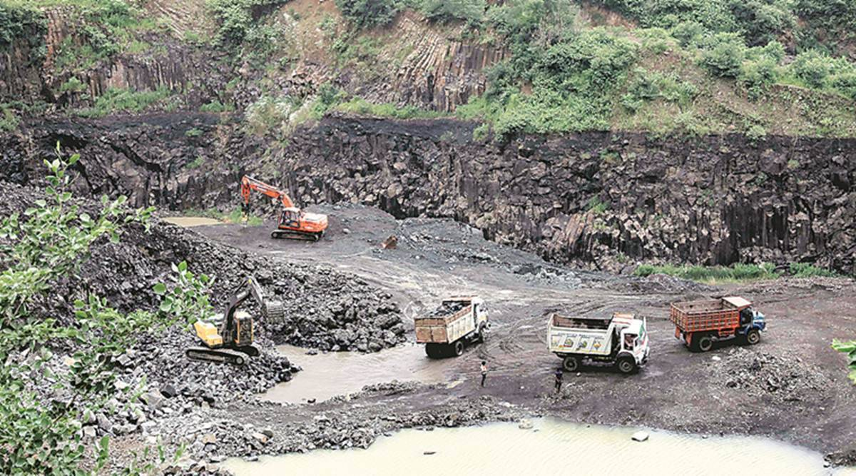 Gujarat Assembly, Gujarat Congress, Commissioner of Geology and Mining, 212.46 crore mining, gujarat news, indian express