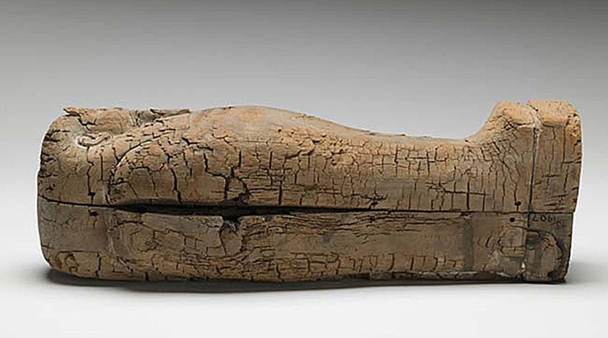 Egypt, Egypt Coffins, egypt wooden coffin discovery, King Teti of Egypt, Zahi Hawass, UNESCO world heritage site, Indian Express News