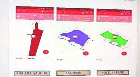 Muzaffarnagar news, land disputes app, Muzaffarnagar district administration, Igile Technologies, new app made in india, role of Lekhpals, uttar pradesh news, india news, indian express latest news