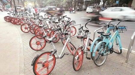 Manohar lal khattar, Haryana Public Works Department, Panchkula Municipal Corporation, Public Bicycle Sharing project panchkula, indian express news