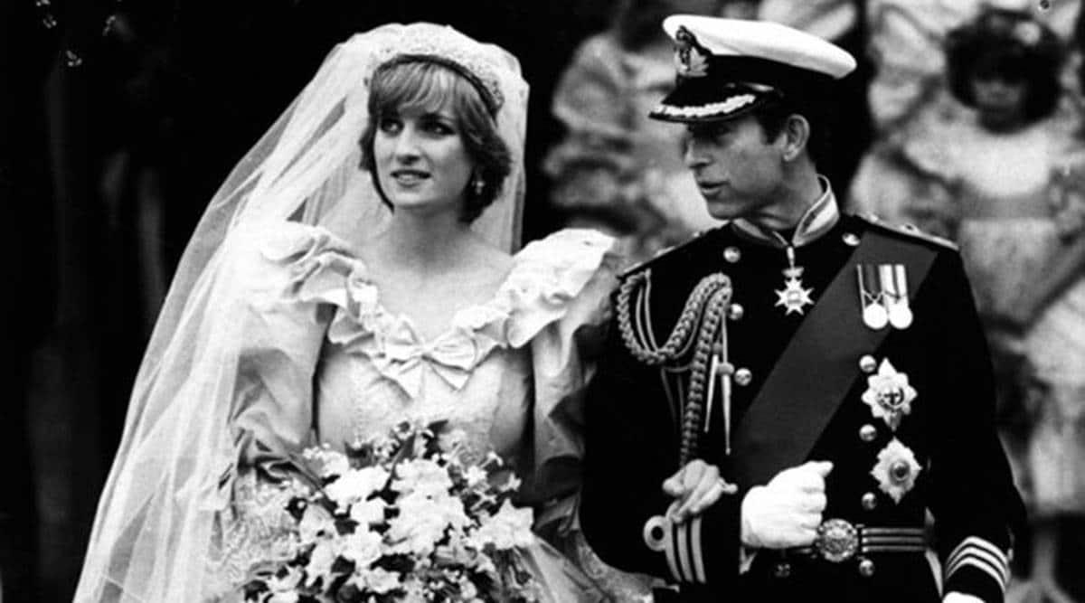 Princess Diana, Princess Diana wedding dress, Princess Diana wedding gown, Princess Diana news, indian express news