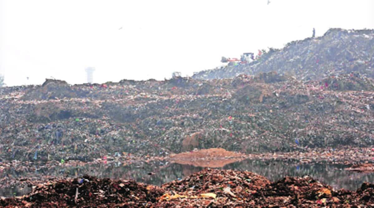 Pile-up over pile-up: Membersihkan tumpukan sampah saat gunung lain muncul di Chandigarh