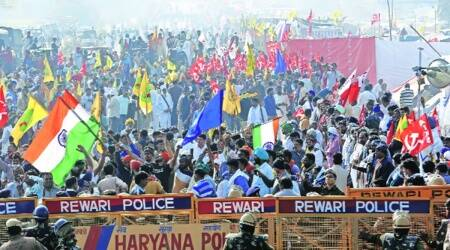 NIA notices, NIA probe, Farmers protest, Farm laws, All India Kisan Sabha, AIKS, Indian express news
