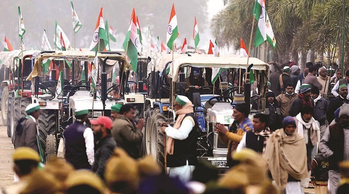 farm protest, farm laws, farmers republic day, farmers republic day violence, indian express news