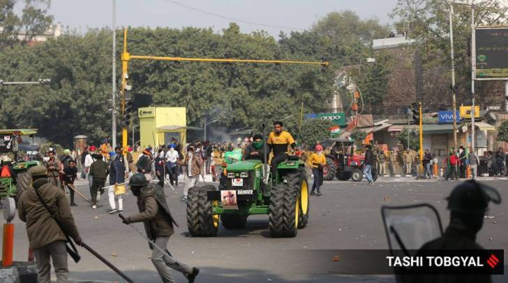 Farmers protests, Republic Day violence, R-day tractor parade violence, Farm laws, Gurgaon, Palwal, Faridabad curfew, Indian express