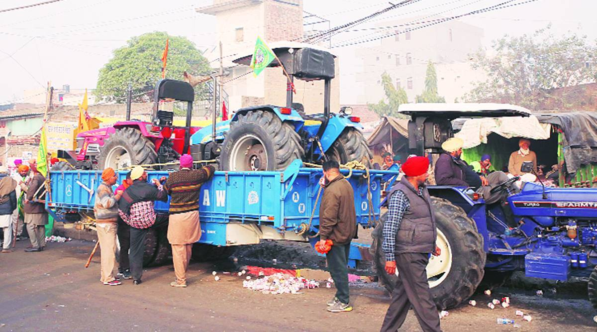 Farmers from Karnal plan to take 20,000 tractors to Delhi