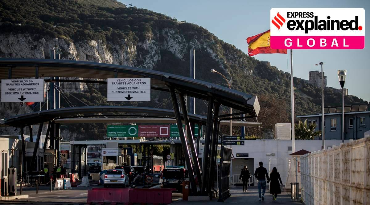 Gibraltar, Gibraltar EU, brexit, spain uk deal, spain uk deal gibraltar, Schengen zone , express explained, indian express