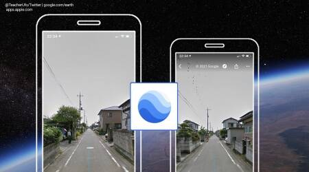Google earth, Images of father who passed away seven years ago, Google street view, Japan, Japan Google earth view, Good earth images of people, Google earth application, Trending news, Indian Express news