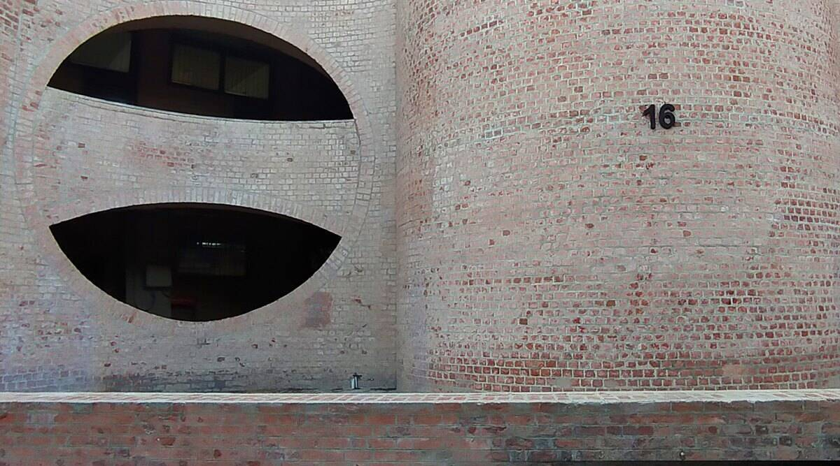 Louis Kahn, Indian Institute of Management Ahmedabad, IIM Ahmedabad Louis Kahn dorms, IIM hostels Louis Kahn, Louis Kahn, Louis Kahn architect, IIM A, Indian Express
