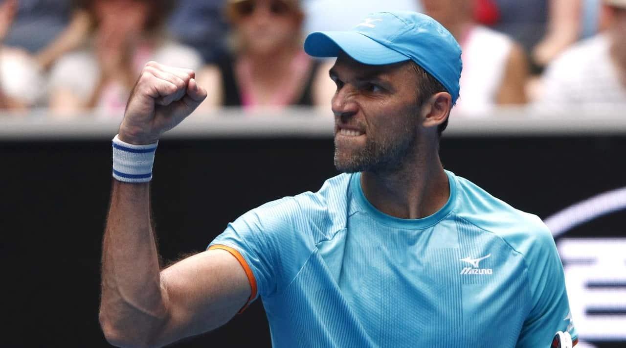 Croatia`s Ivo Karlovic becomes oldest ATP Tour match victor