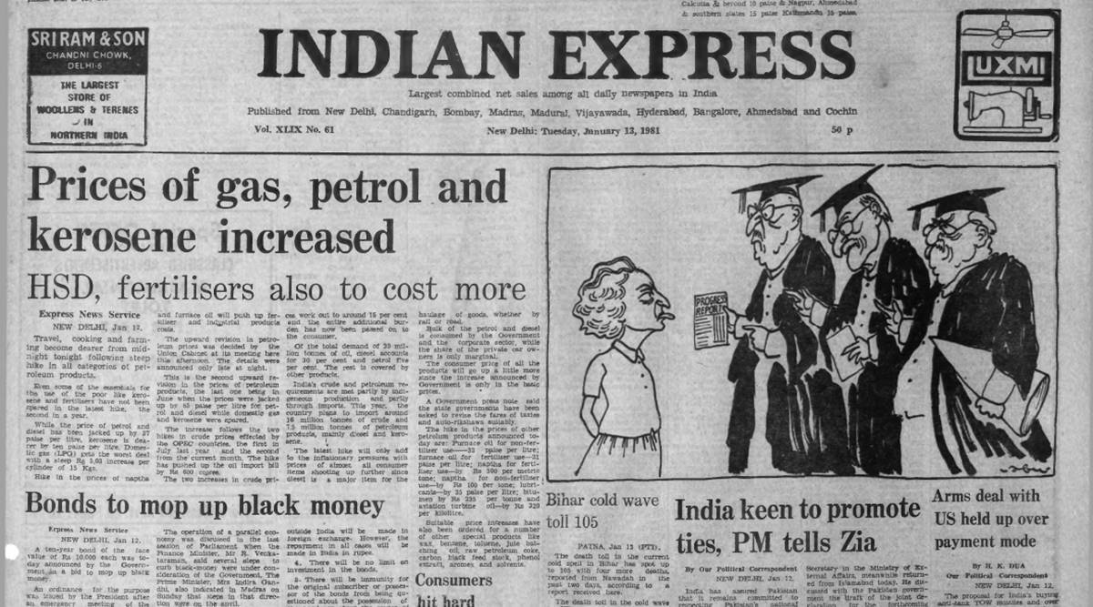Forty Years Ago, January 13, 1981: Fuel is dearer