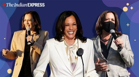 kamala harris, kamala harris photos, kamala harris instagram, kamala harris photos, indian express, indian express news