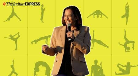 fitness goals, Kamala harris fitness, kamala harris fitness goals, kamala harris-doug emhoff fitness routine, indianexpress.com, indianexpress,