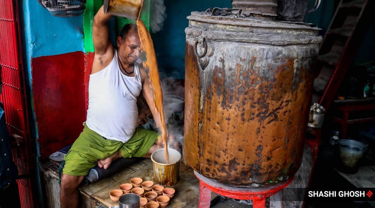 samovars, samovars tea shops, samovar in india, kolkata samovar tea shop, kolkata tanki chai, kolkata copper boiler tea shop, kolkata heritage news, indian express