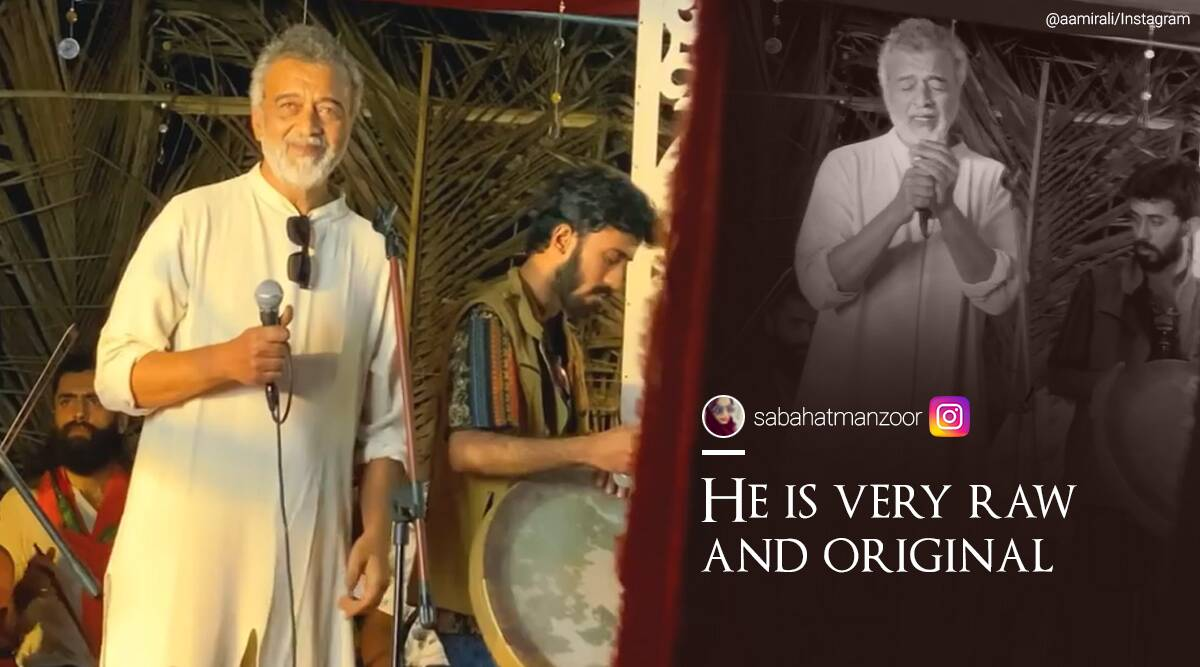 Lucky Ali, O Sanam, Unplugged version, Lucky Ali O Sanam, Lucky Ali 'Sunoh' album, 'Sunoh' live unplugged performance, Lucky Ali O Sanam viral video, Lucky Ali, O Sanam latest cover, Lucky Ali, Lucky Ali, concert, O Sanam latest rendition, O Sanam unplugged version Lucky Ali guitar, viral video, Trending news, Indian Express news.