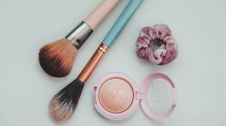 Skincare, makeup and skincare, cleaning cosmetics, how to clean brushes, tips to clean cosmetics, indianexpress.com, indianexpress,