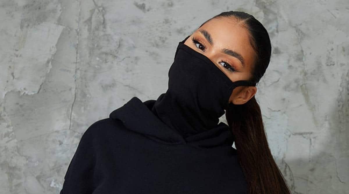 mask hoodie
