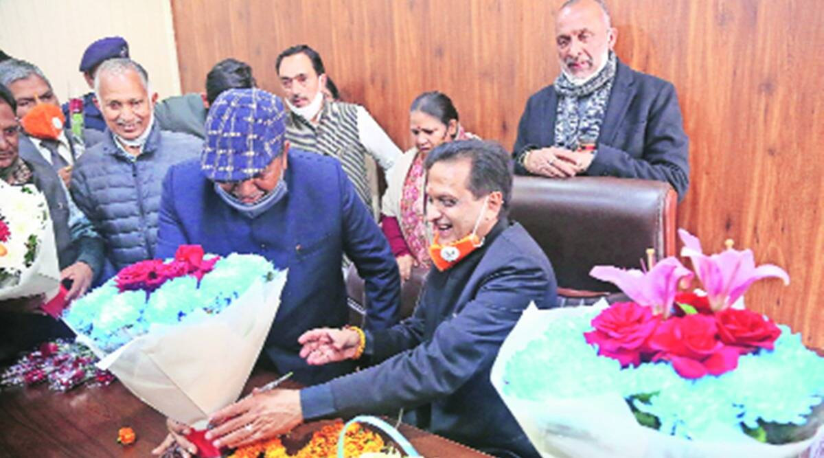 Panchkula mayor, new Panchkula mayor, Kulbhushan Goyal, Panchkula Municipal Corporation, indian express news
