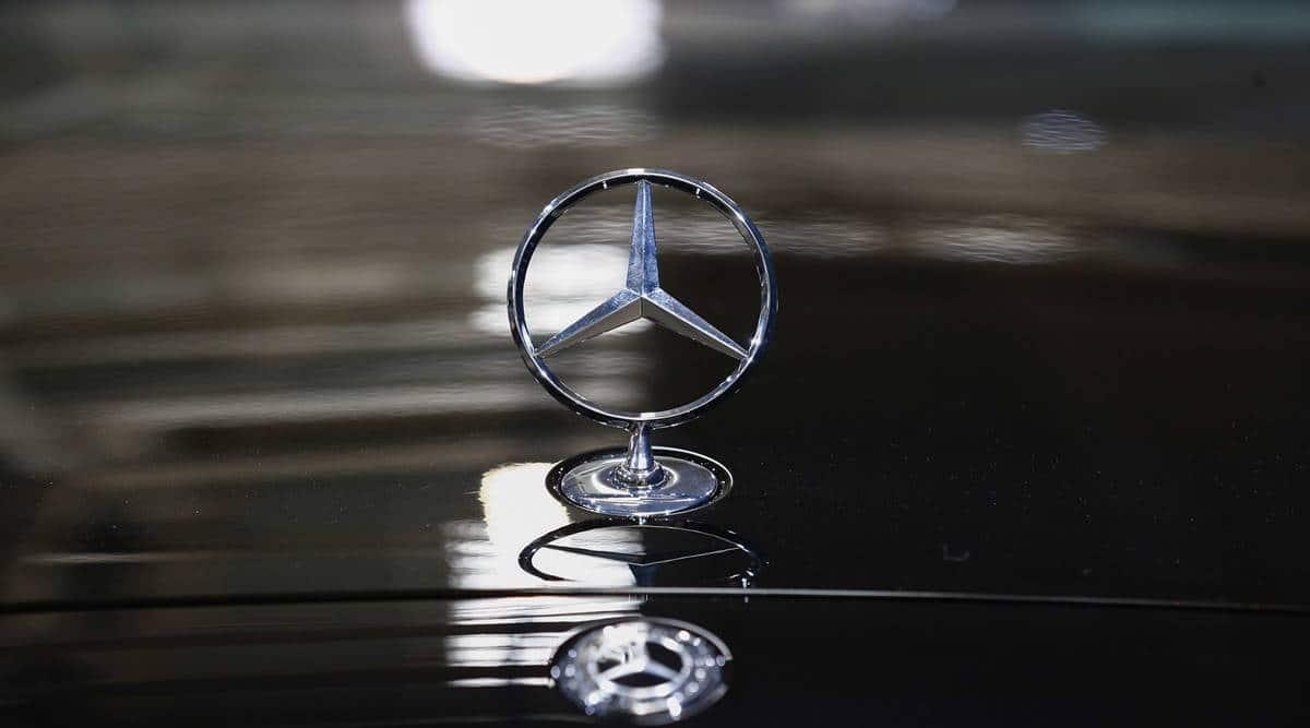 Mercedes-Benz , e-car race, Tesla, Mercedes-Benz Tesla, Mercedes-Benz investment, Business news, world news, Indian express