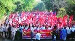 sharad pawar, Mumbai farmers, Mumbai Farmers march, farm bills, farmers protest, indian express news