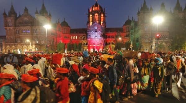 sharad pawar, Mumbai farmers, Mumbai Farmers march, farm bills, farm laws, farmers protest, indian express news