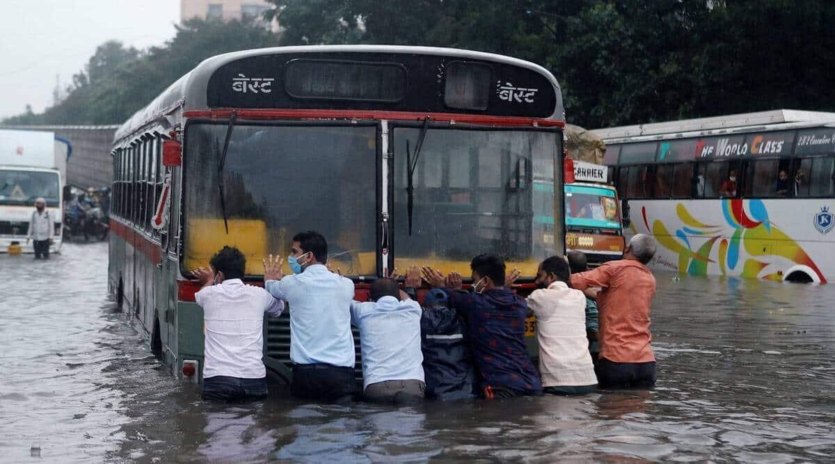 Mumbai rain gauge network, IMD Mumbai, Mumbai Met dept, Mumbai news, Maharashtra news, Indian express news