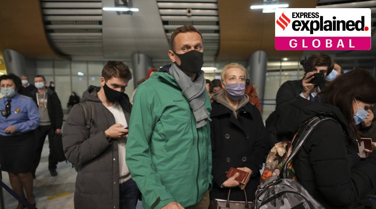 Explained: Why has Russia detained opposition leader Alexei Navalny after landing in Moscow?