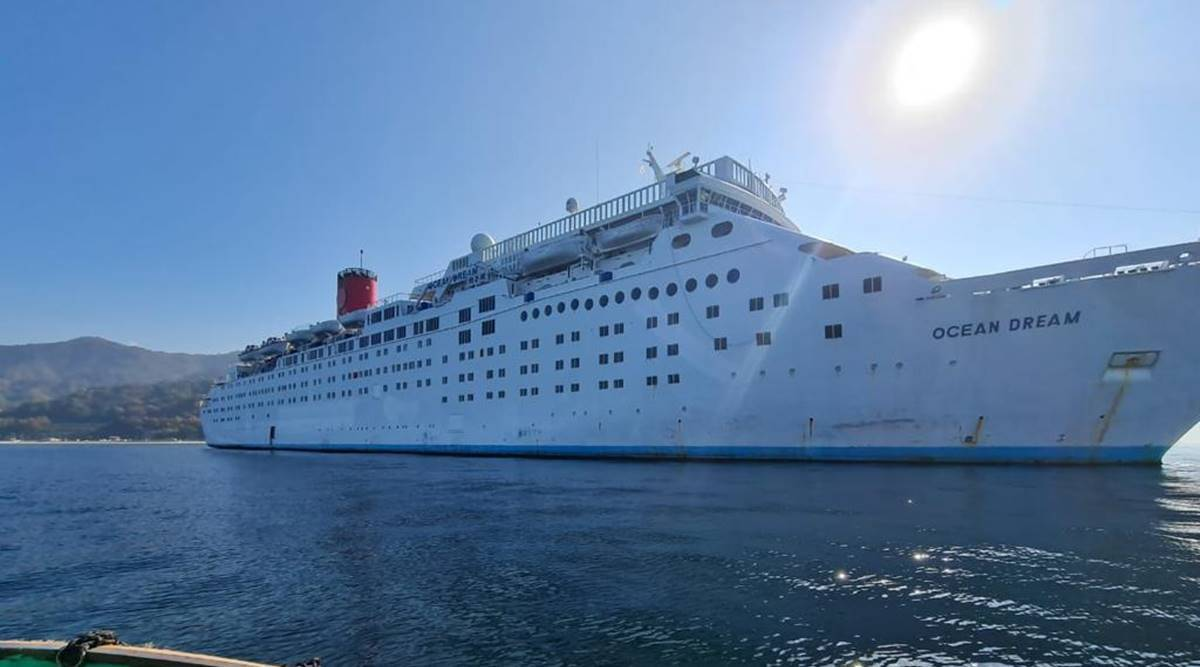 Hit by Covid, luxury cruise liners queue up at Alang