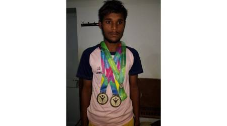 Rajvir Singh, olympian death, rajvir singh death, financial assistance, Special Olympics double gold medallist death, Gurmit Sodhi, Chandigarh News, Indian Express