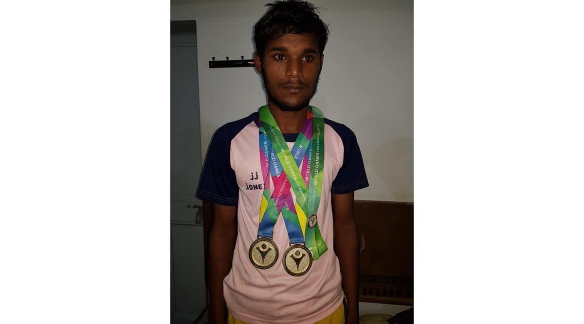 Amarinder Singh, Rajvir Singh, Olympics double gold medalist dies, Rajvir Singh Special Olympics Los Angeles, Rajvir Singh los angeles olympic gold medal, indian express news