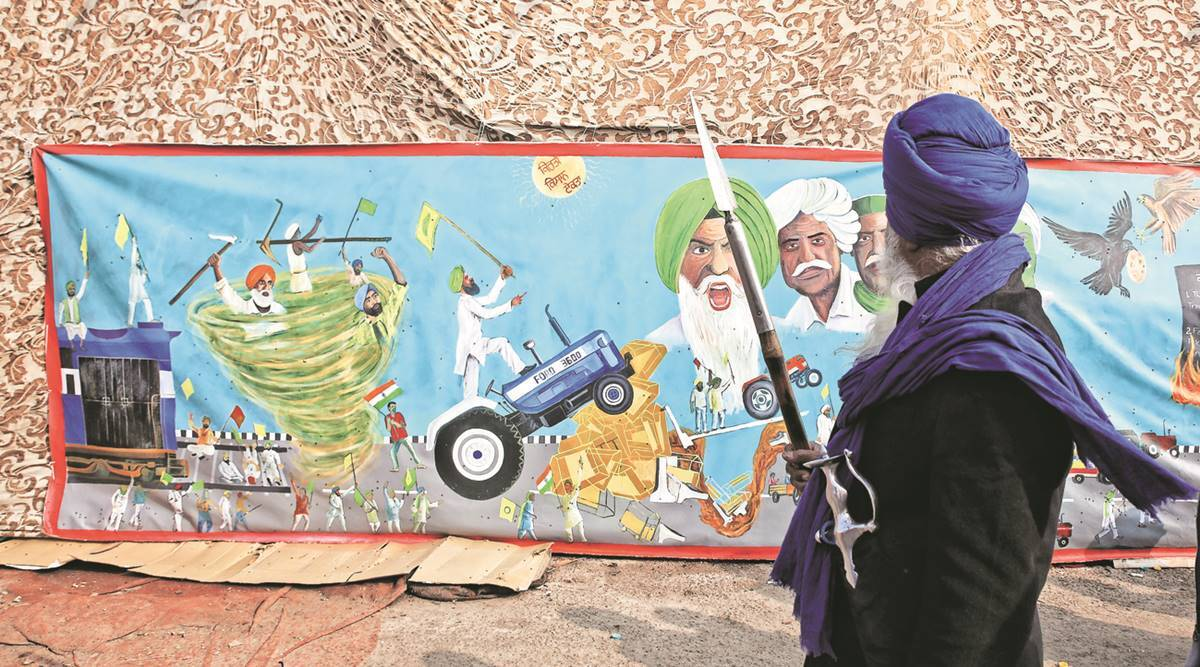 Here from Punjab, a painter and his work