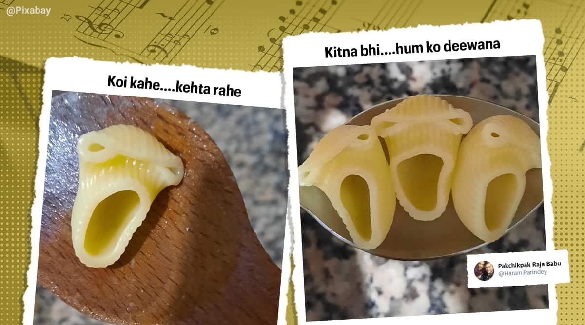 pasta meme, singing pasta memes, screaming pasta, pasta scream photoshop challenge, funny pasta memes, latest memes, indian express