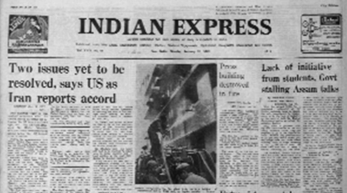 Iran hostage crisis, American hostages, US govt, Forty Years Ago, Indian express news