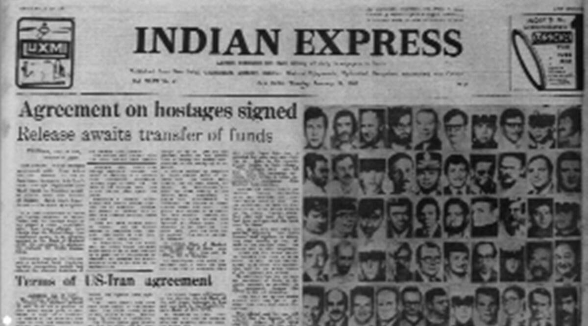 Iran-US deal, American hostages release, Iranian negotiator, Forty Years Ago, Indian express news