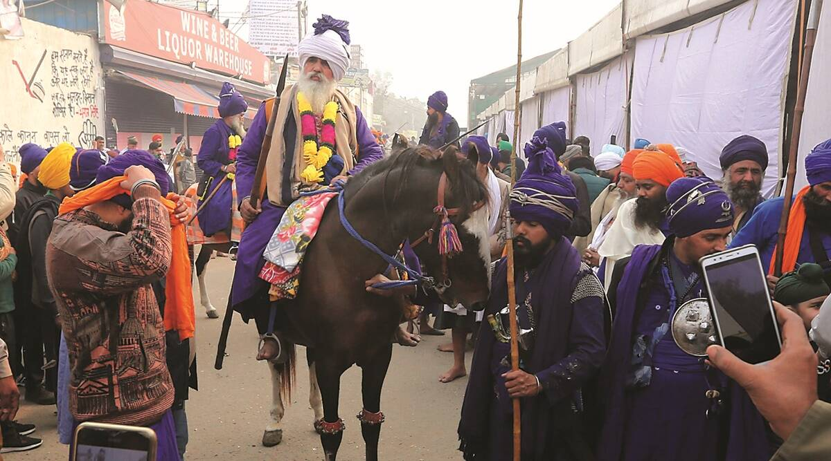 Along the 15-km stretch at Singhu, 50 horsemen trot 'in R-Day preparation'