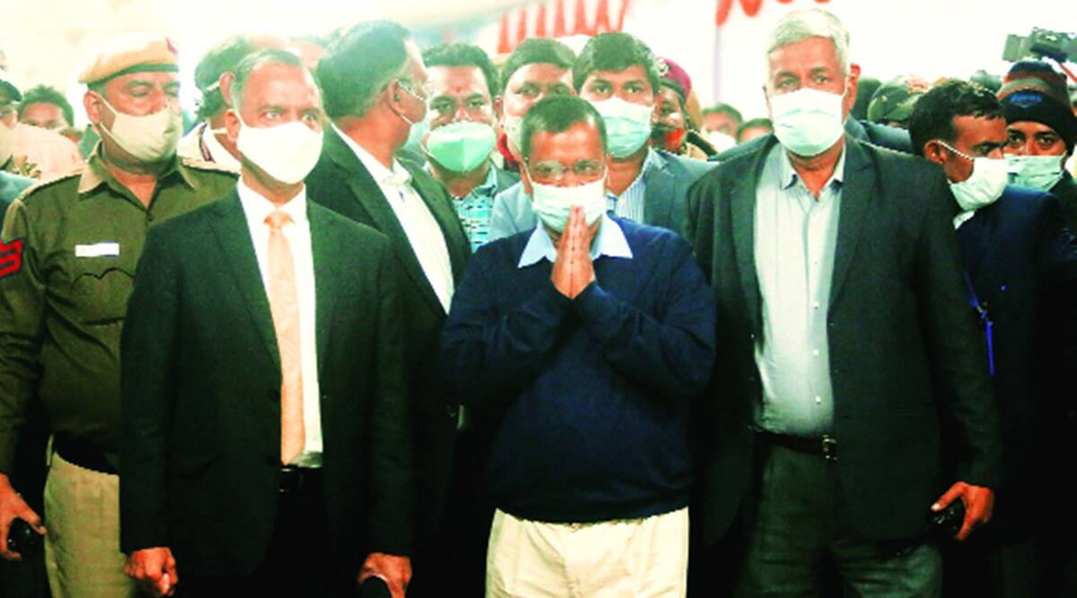 Delhi CM, Arvind Kejriwal, Covid vaccine safe, Delhi Coronavirus vaccination drive, Delhi inoculation drive, Coronavirus cases, Delhi news, Indian express news