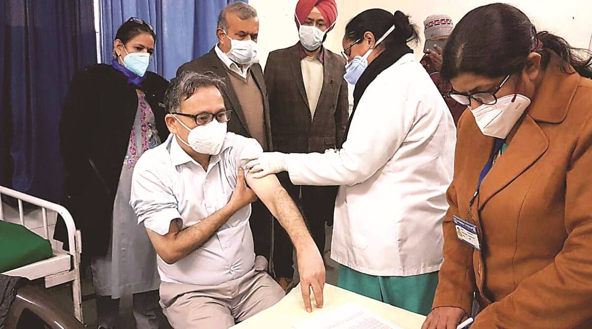 At RML hospital in Delhi, spirits high: 'Worked hard, glad to get the benefit first'