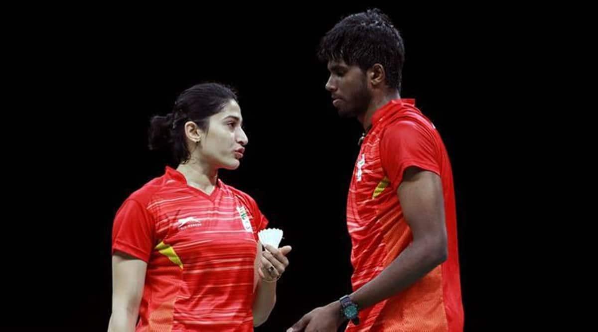 badminton match, Ashwini Ponappa, Satwiksairaj Rankireddy, Thailand Super 1000 series, Covid chaos, sports news, Indian express news